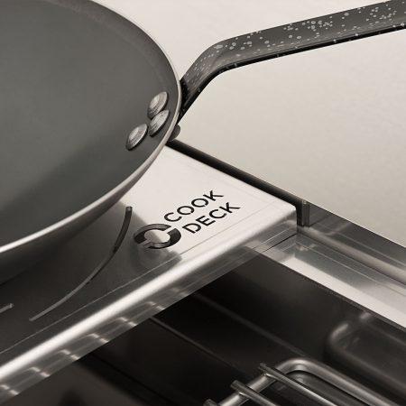 Kochen mit WOK Pfanne