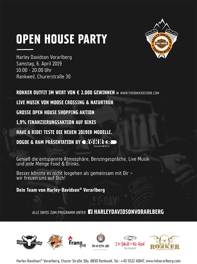 Flyer Open House Rankweil